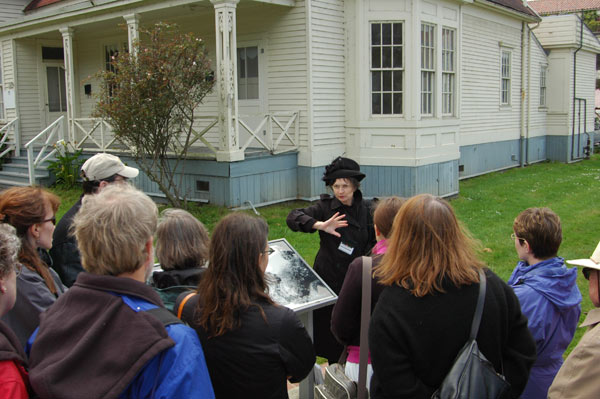 photo of the walking tour at The Presidio