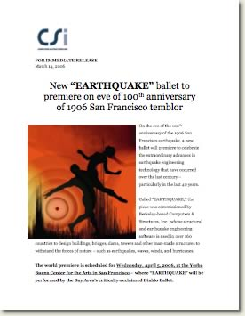 thumbnail image of Earthquake Ballet press release